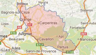 Plan du Vaucluse