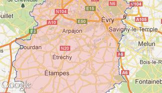 Plan de l'Essonne