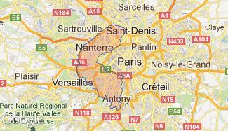 Plan des Hauts-de-Seine