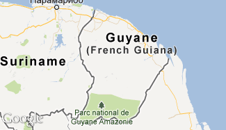 Plan de la Guyane