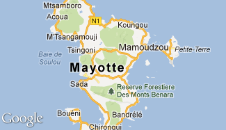 Plan de Mayotte