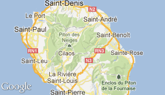Plan de La Réunion