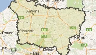 Plan de la Picardie