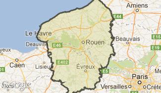 Plan de la Haute-Normandie