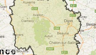 Plan de la Bourgogne
