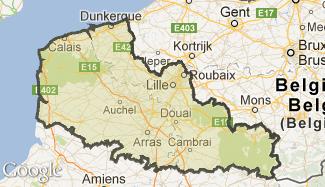 Plan du Nord-Pas-de-Calais