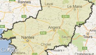 Plan des Pays de la Loire