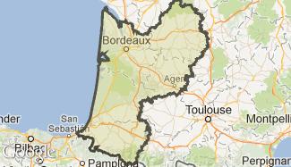 Plan de l'Aquitaine