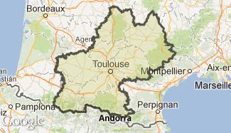 Plan du Midi-Pyrénées
