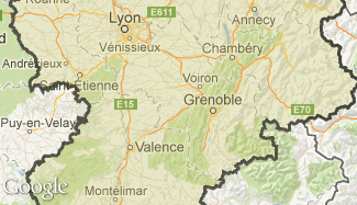 Plan du Rhône-Alpes