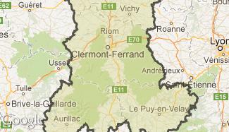 Plan de l'Auvergne