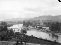Pont sur la R.N. 125 franchissant la Garonne (également sur commune de Gourdan-Polignan)