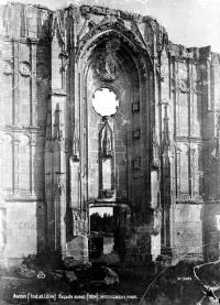 Ruines du château et de la collégiale des Roches-Tranchelion