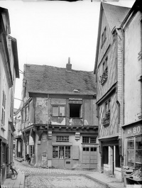 Maison à pans de bois du 15e siècle