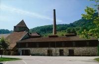 Anciennes salines royales de Salins-les-Bains, actuellement musée du sel