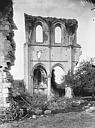 Ruines de l'abbaye de Fontainejean (ou Fontaine-Jean)