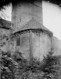 Eglise Sainte-Lucie, à Vallières