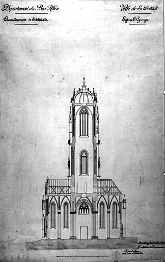 Ancienne cathédrale ou église Saint-Georges