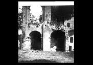 Restes de l'ancienne cathédrale Notre-Dame