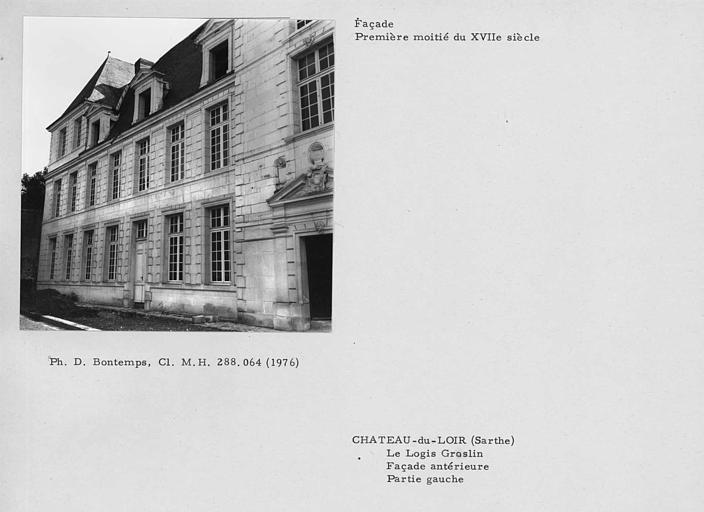 Logis graslin ancien ch teau du loir 72500 for Logis de france toulouse