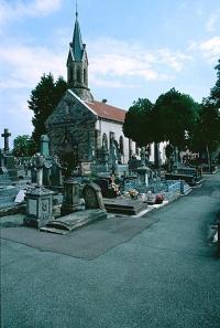 Eglise de Brasse (ancienne) , actuellement chapelle du cimetière