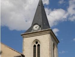 Photo paysage et monuments, Frans - Clocher de l'église Saint-Etienne de Frans