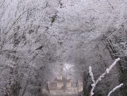 Photo paysage et monuments, Lurcy - hiver 2010 lurcy sous le givre