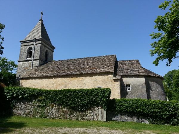 Mornay - Extérieur de la chapelle