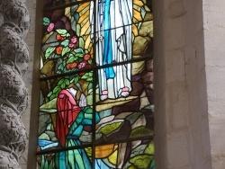 Photo paysage et monuments, Abbécourt - Vitraux église St Jean baptiste
