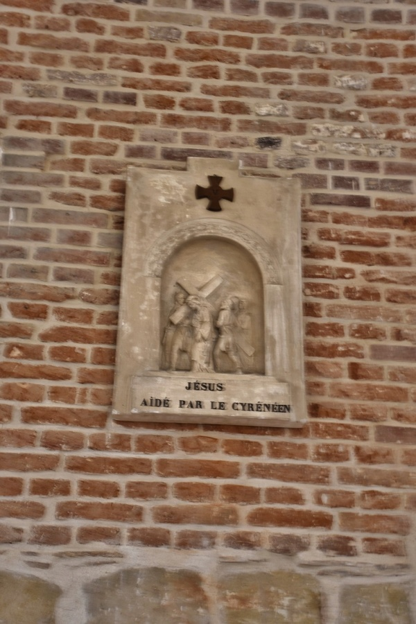 Photo Abbécourt - le chemin de croix église st jean Baptiste