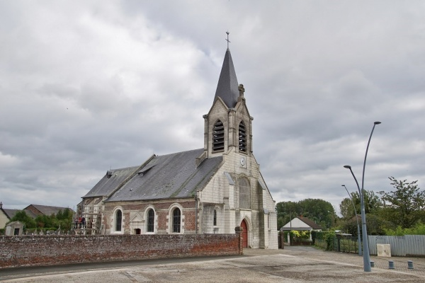 Photo Abbécourt - église St jean Baptiste