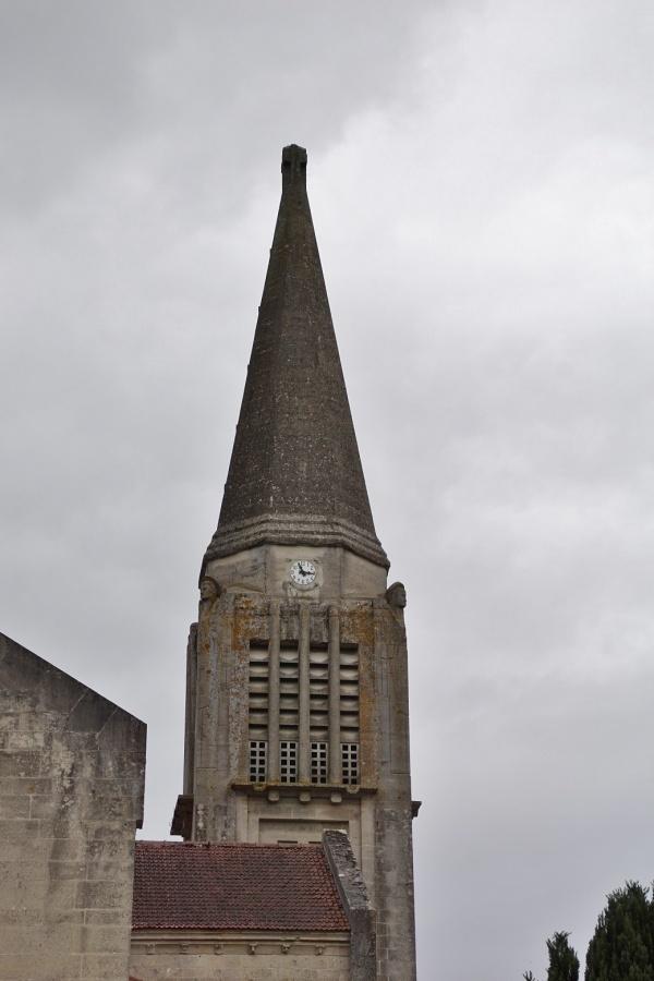 Photo Aizy-Jouy - le clocher st medard