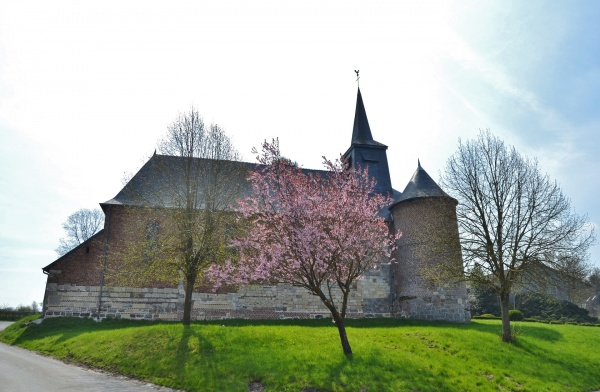 Photo Bancigny - L'église Fortifiée
