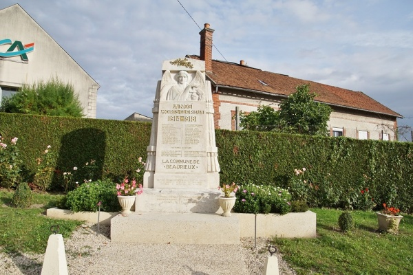Photo Beaurieux - le Monument Aux Morts