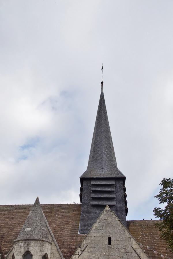 Photo Blérancourt - le clocher église st Pierre