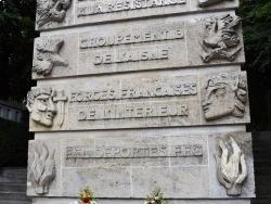 Photo paysage et monuments, Chauny - le monument aux morts