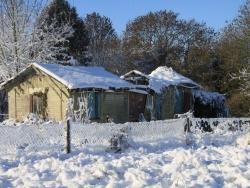 Photo paysage et monuments, Chézy-en-Orxois - En hiver ( rue de la gare)