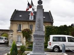 Photo paysage et monuments, Fontenoy - le monument aux morts