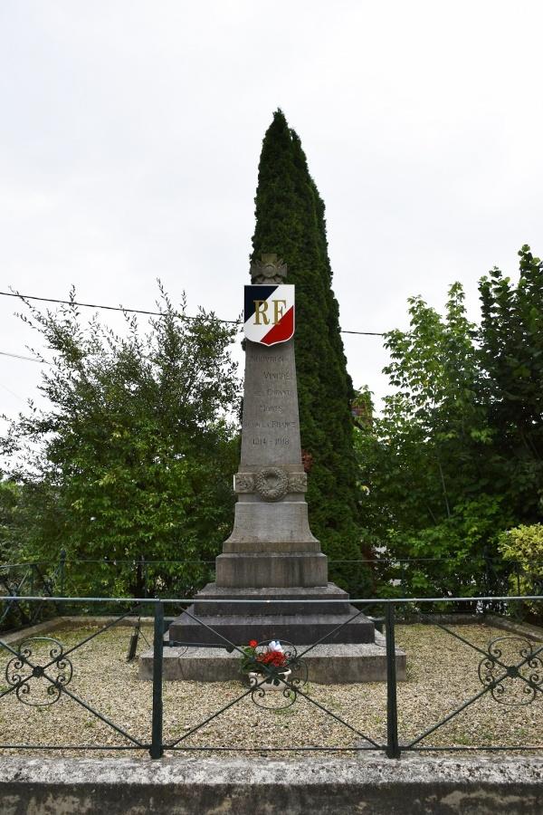 Photo Nouvron-Vingré - le monument aux morts