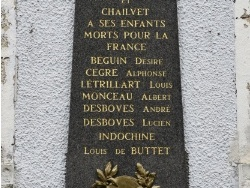 Photo paysage et monuments, Royaucourt-et-Chailvet - Monument-aux-Morts