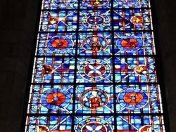 Photo paysage et monuments, Soissons - Vitraux Cathédrale Saint Gervais Saint Protais