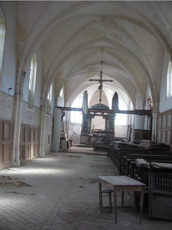 Photo Vendières - Eglise st Jean Baptiste de Vendières 02540 (intérieur)