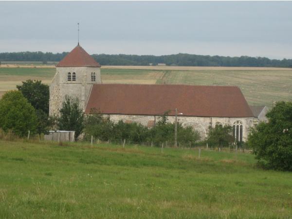 Eglise St Jean Baptiste de Vendières 02540