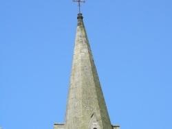 Photo paysage et monuments, Mazirat - L'eglise de Mazirat et son clocher de Pierre