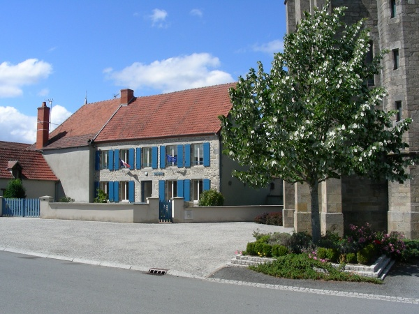 Mairie de Mazirat