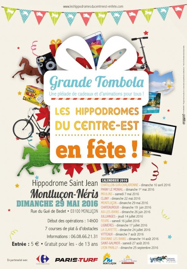Les Hippodromes du Centre-Est en Fête à Montluçon