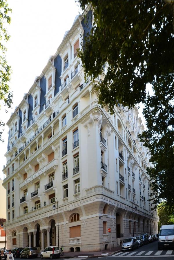 Ancien hôtel Ruhl à Vichy, maintenant Palais des Parcs