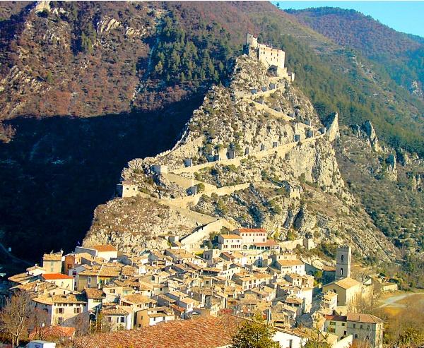 La cité médiévale d'Entrevaux (04)