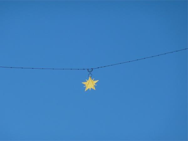 Photo Moustiers-Sainte-Marie - L'étoile