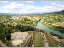 """Photo paysage et monuments, Sisteron - """"Les nuits de la Citadelle""""...c'est ici."""